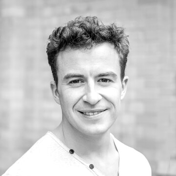 Hier würden Sie ein Foto des Homday Produktmanagers Backend Sebastian Dziubiel sehen.