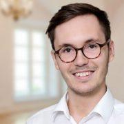 Hier würden Sie unseren Interviewpartner Fabian Borgs sehen.