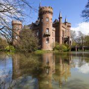 Hier würden Sie ein Bild des romantischen Schloss Moylands sehen.
